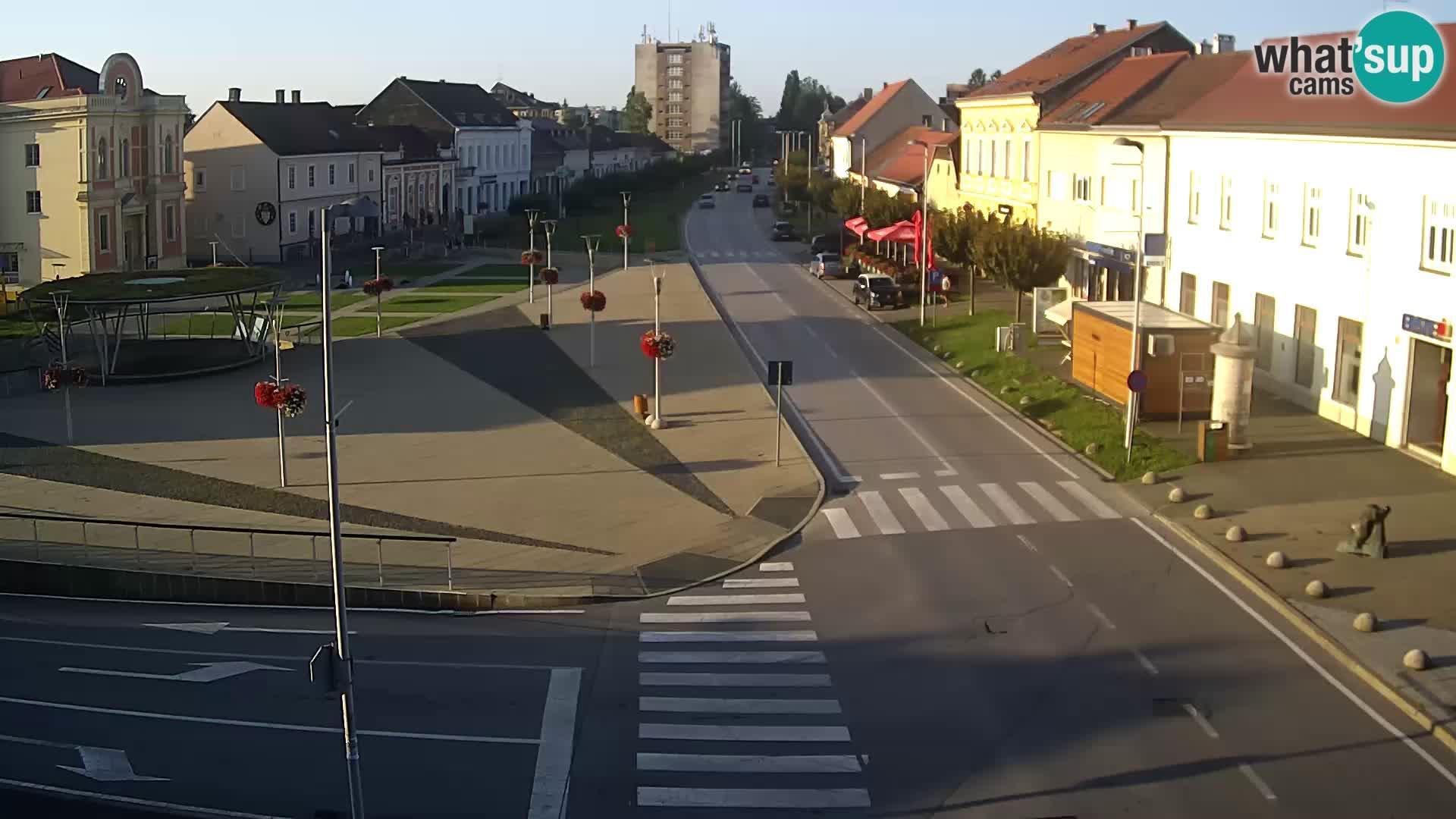 Webkamera Križevci: Centar