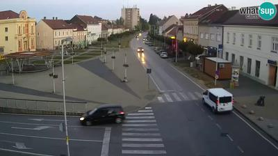 Kundevec: KriĹľevci - Center, Josip Juraj Strossmayer Square