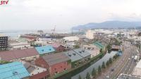 Last daylight view from Otaru