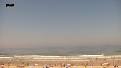 Vue webcam de jour à partir de Colares: Lisbona Praia _ Grande _ Sul
