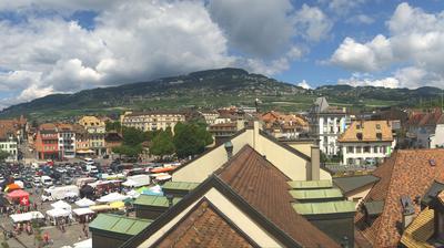 Tageslicht webcam ansicht von Vevey: Musée − de l'appareil photographique