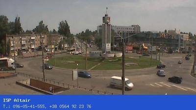 Vue webcam de jour à partir de Artema: 95 й квартал