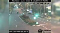 Maroochydore: Nambour - Currie Street and Maud Street (looking north) - Recent