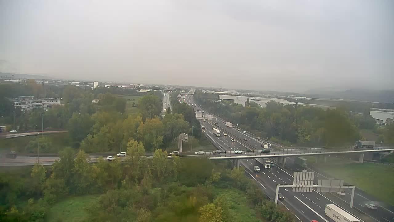 Webcam Les Gibets: Valence-A7 près de Valence, vue sur la