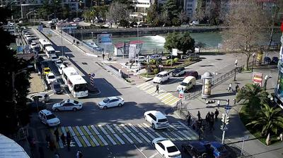Webkamera Sochi: Перекресток Конституции/Московская г