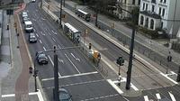 Dresden: Bahnhof Neustadt (Haltestellenbereich) - Dia