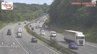 Cardiff: M eastbound between junctions  and  (Capel Llanilltern and Coryton) - Dagtid