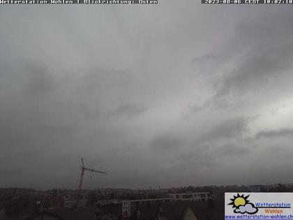 Wohlen: Blickrichtung Osten (Zürich)