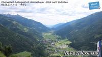 Obervellach: Almgasthof Himmelbauer - Blick nach S�dosten - Overdag