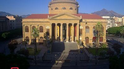Palerme: Teatro Massimo Vittorio Emanuele