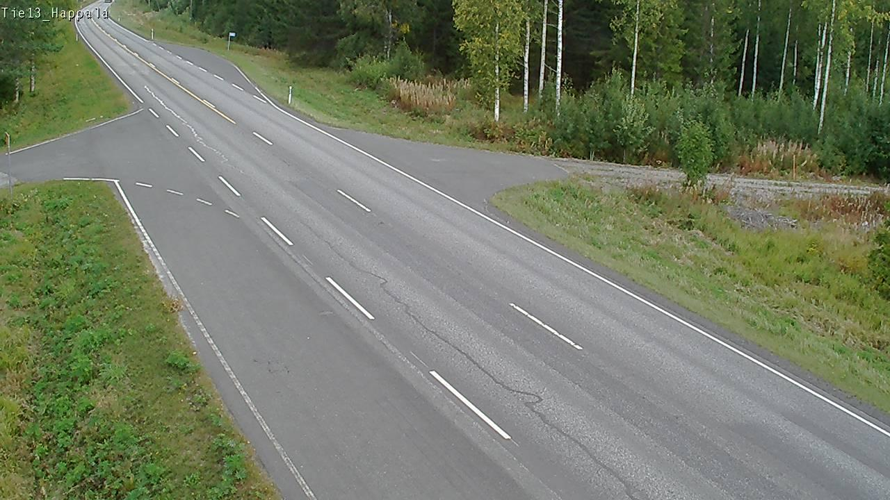 Webcam Kangasniemi: Tie13 − Happala − Jyväskylään