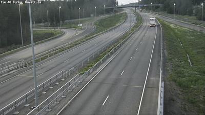 Current or last view from Kaarina: Tie 40 Ravattula − Helsinkiin