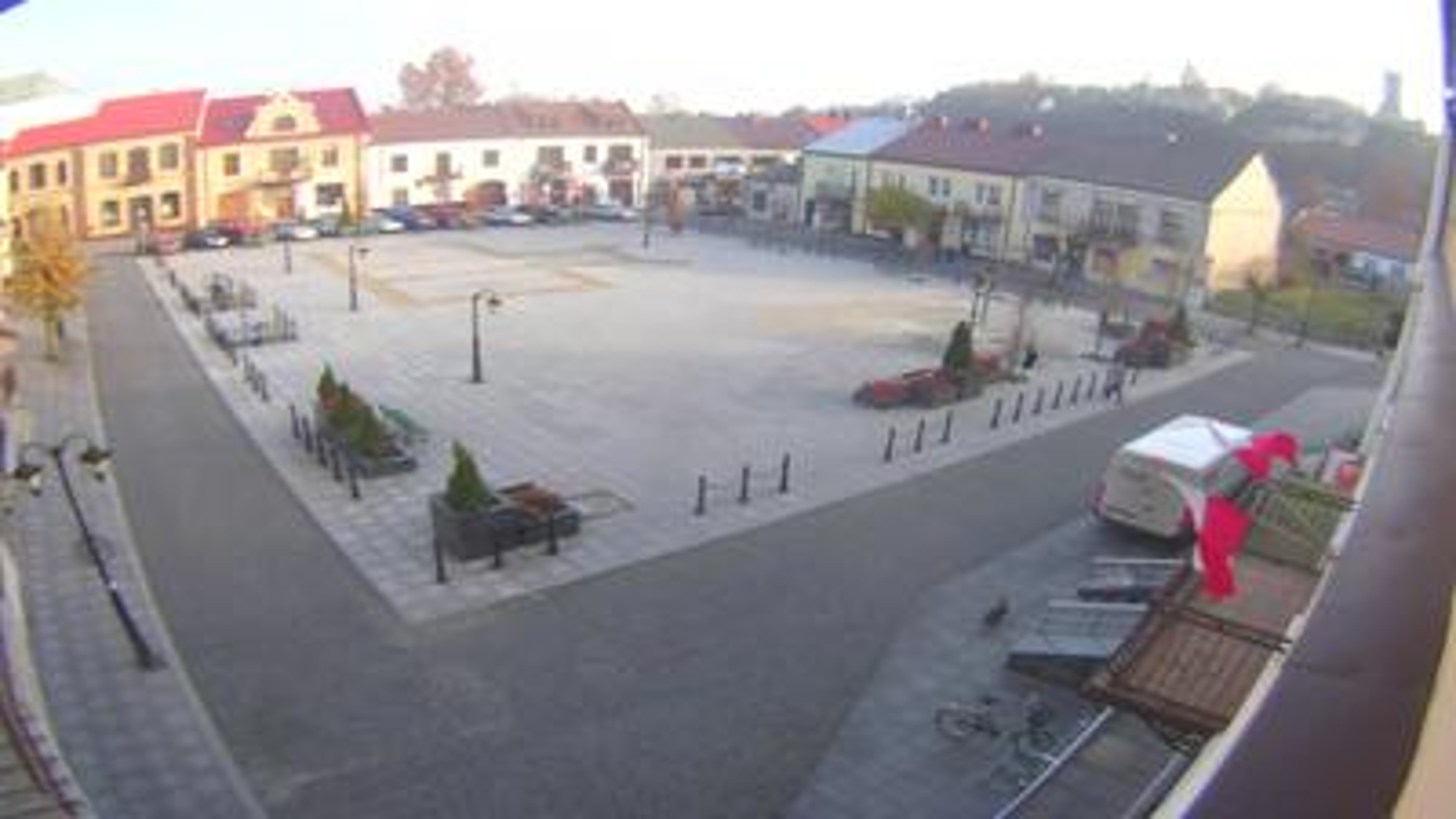 Webcam Iłża › North-East: Rynek