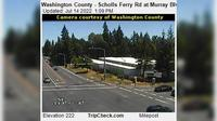 Beaverton: Washington County - Scholls Ferry Rd at Murray Blvd - Overdag