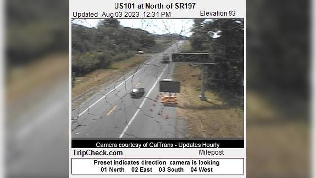 Webkamera Tryon Corner: US101 at North of SR197