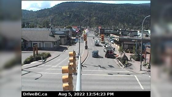 Webkamera Smithers › West: Hwy 16 in − at Main Street, looki