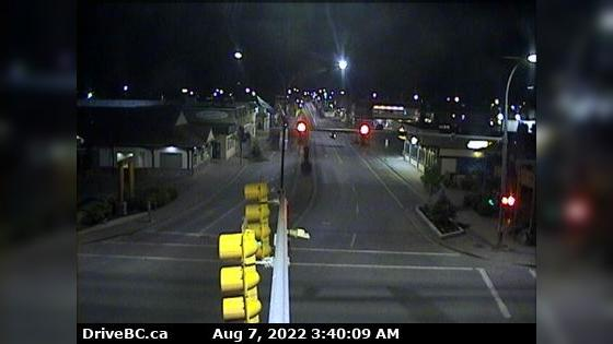 Webcam Smithers › West: Hwy 16 in − at Main Street, looki