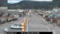 Smithers › West: Hwy  in - at Main Street, looking west
