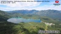 Grainau: Seilbahn Zugspitze - Weltrekord-St�tze - Blick �ber den Eibsee nach Norden - Overdag