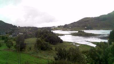 Daylight webcam view from Bringsinghaug › South: Sandshamn Møre og Romsdal Sandsøya