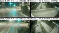 Cedar Rapids: CR - I- @ Wilson Ave SW - WWD Quad(Q) - Actuales
