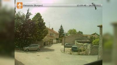 Vista de cámara web de luz diurna desde Villalbilla de Burgos: Renuncio
