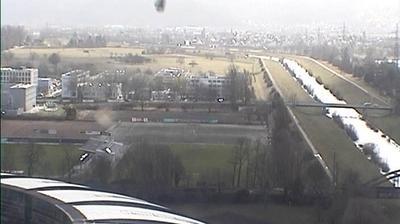 Vue webcam de jour à partir de Offenburg: Hubert Burda Media Tower South