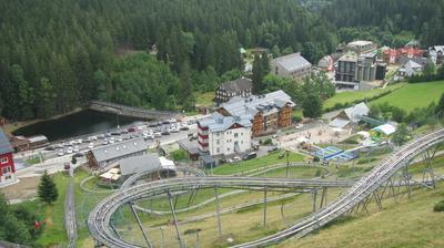 Vue webcam de jour à partir de Pec pod Sněžkou: Pec pod Snezkou Relaxpark