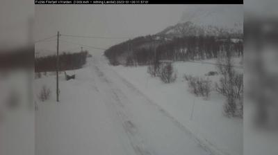 Vista de cámara web de luz diurna desde Filefjell: F296 − v/ Varden (Ved Varden, 1009 moh)