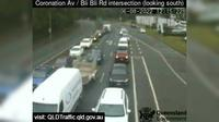 Maroochydore: Nambour - Coronation Avenue - Bli Bli Road intersection (South) - Overdag