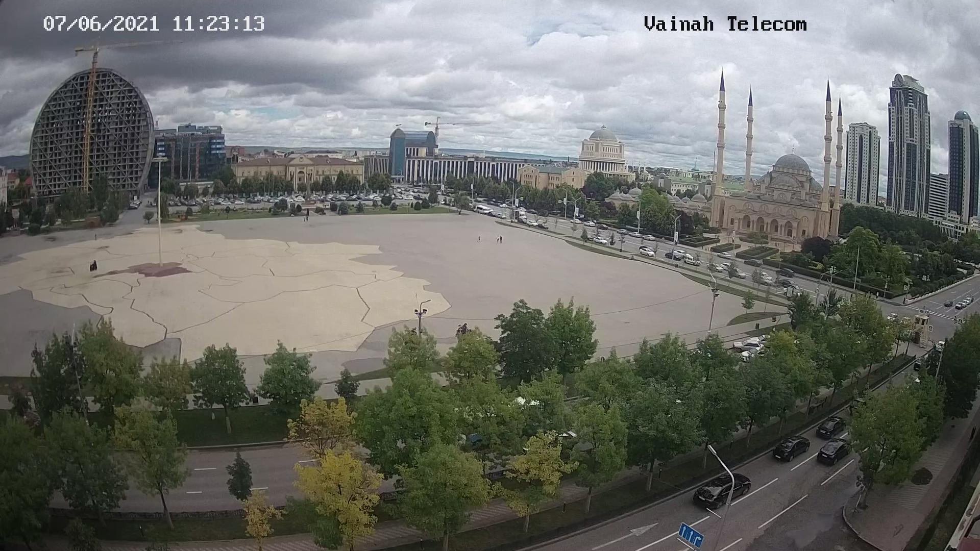 Webcam Grozny: сердце чечни − Сердце Чечни