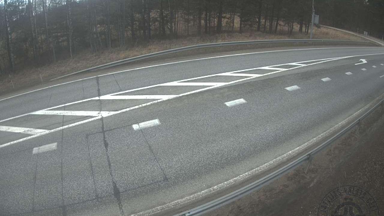 Webcam Kursīši: Dunte, A1 autoceļš 45km