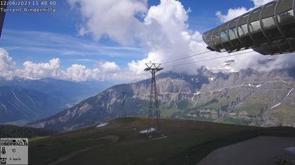 Leukerbad › Süd: Torrent Rinderhütte: Panorama