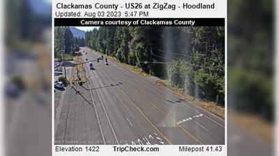 Thumbnail of Mount Hood Village webcam at 5:56, Jul 23