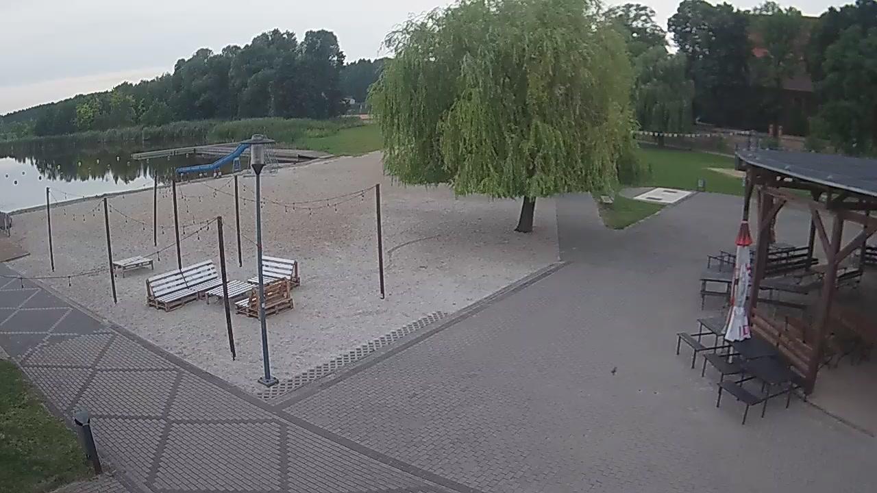 Webcam Dolsk › West: Jezioro Dolskie Wielkie