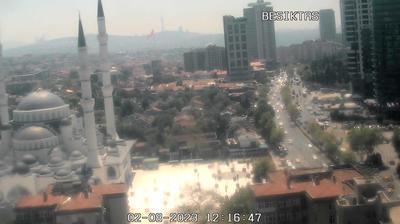 Tageslicht webcam ansicht von Istanbul › South: levent