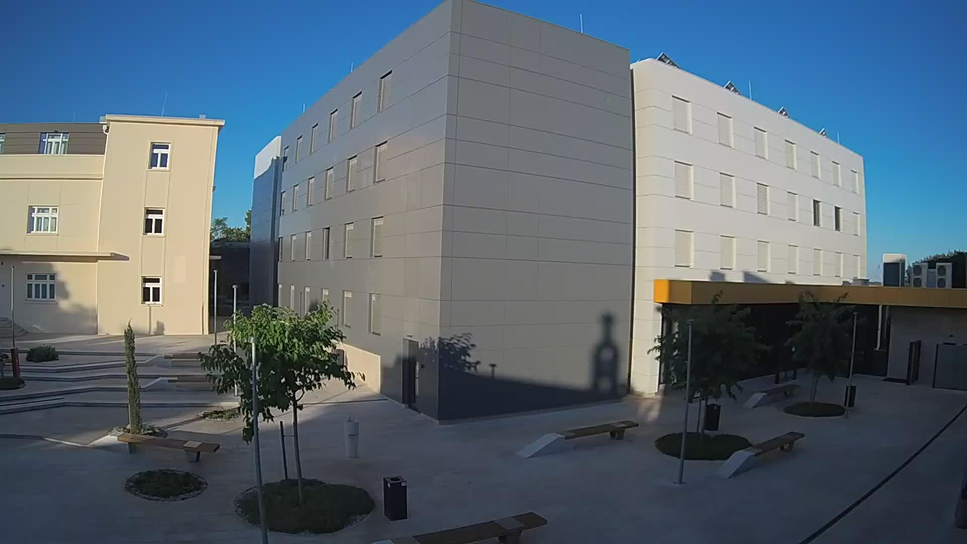 Webcam Pula: Gradilište Studentski dom