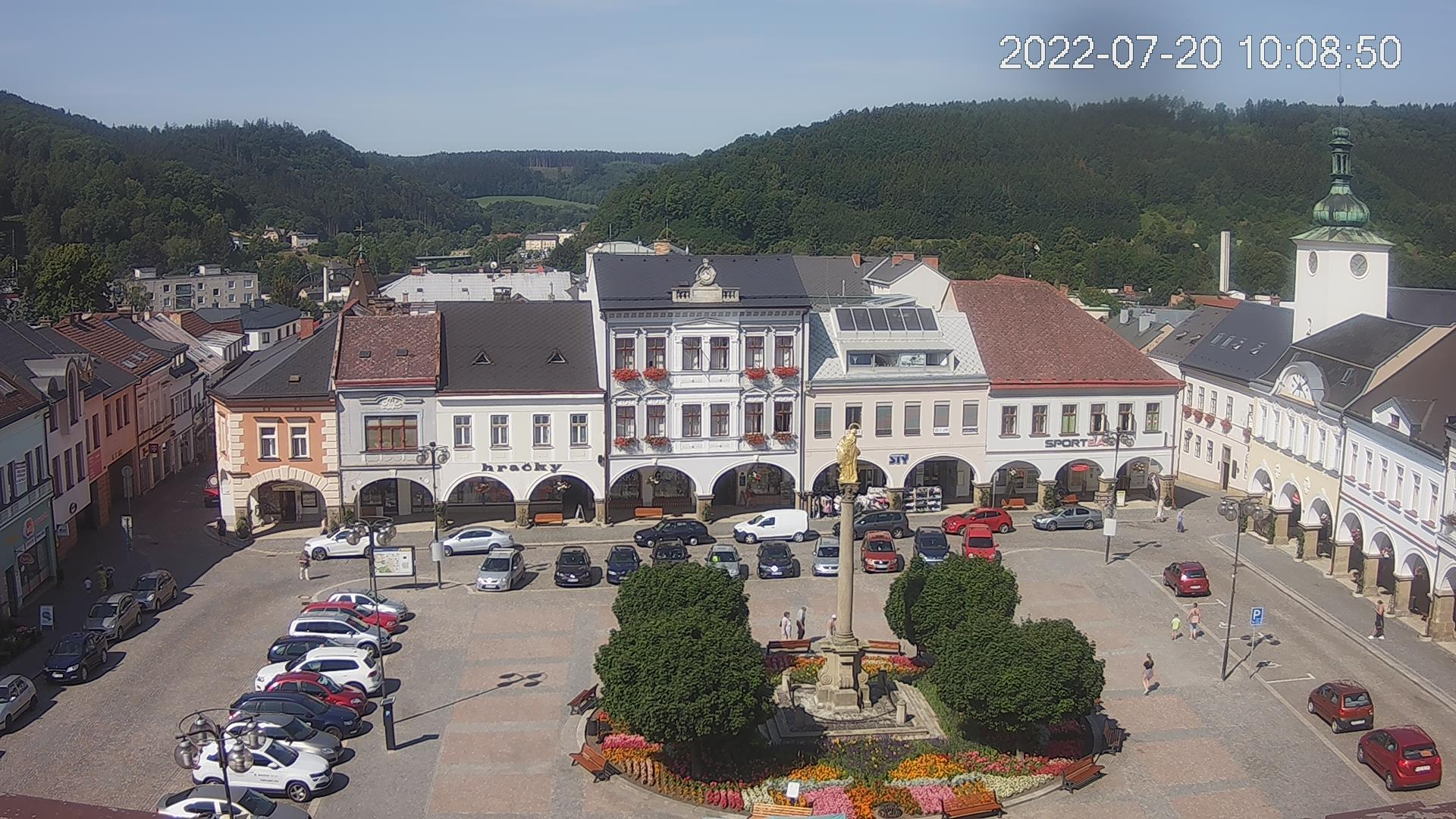 Webkamera Ústí nad Orlicí