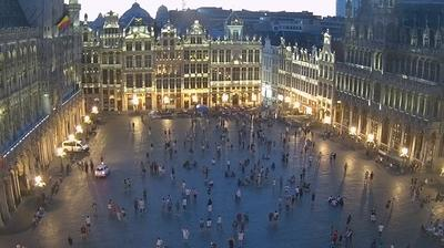 Ville de Bruxelles: Webcam at the Grand-Place of Brussels