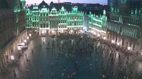 Ville de Bruxelles - Stad Brussel: Webcam at the Grand-Place of Brussels - Current