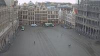 Ville de Bruxelles - Stad Brussel: Webcam at the Grand-Place of Brussels - Actual