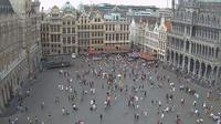 Ville de Bruxelles - Stad Brussel: Webcam at the Grand-Place of Brussels - Dia