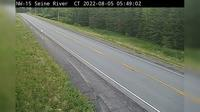 Unorganized Rainy River: Highway  near Camp River Rd (Central Time) - Actuales