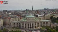 Innere Stadt: Burgtheater, Peterskirche und Stephansdom - Overdag
