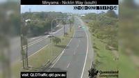 Caloundra: Nicklin Way - Minyama, looking south towards Jessica Boulevard - Dia