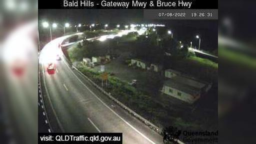 Webcam Wyampa: Bald Hills − Gateway Motorway and Bruce Hi