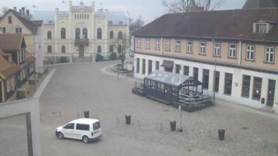 Weather webcam Rumbenieki: Kuldīgas rātslaukums in Oļi, Latvia