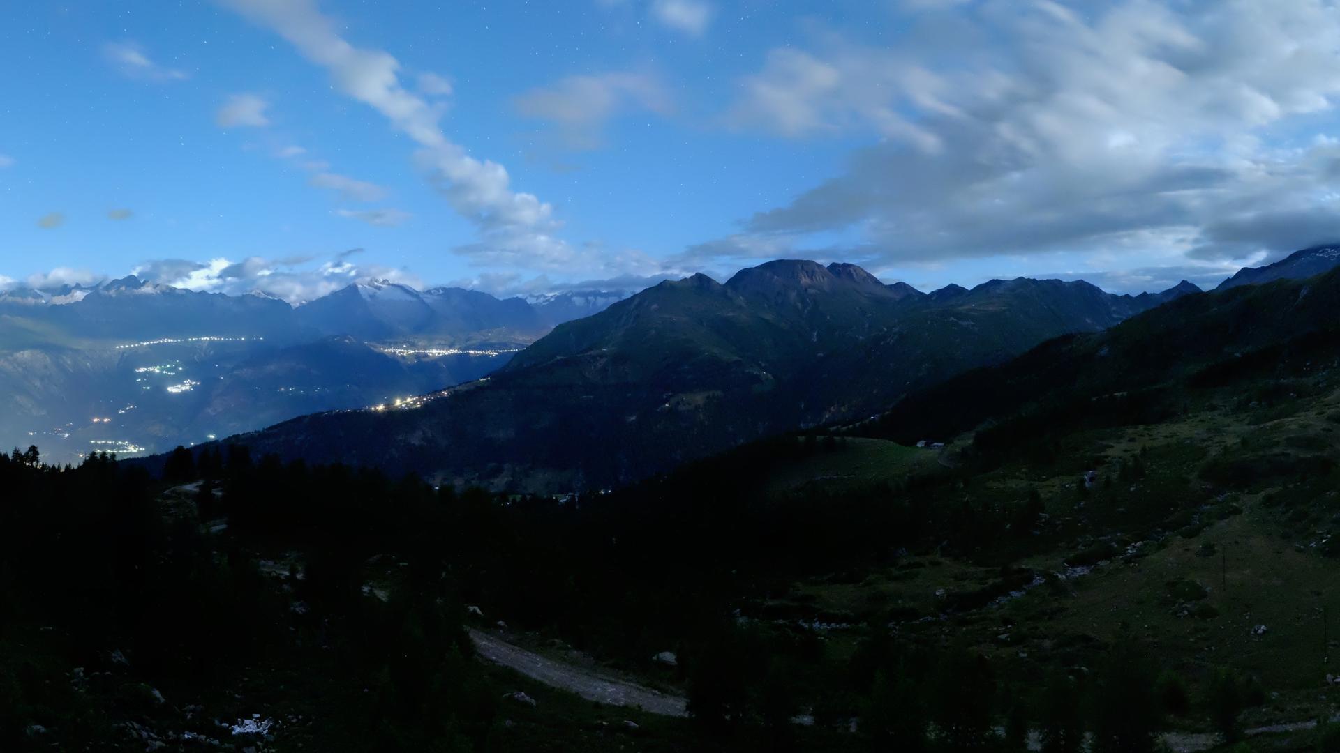Webcam Rothwald: Rhonetal Bietschhorn