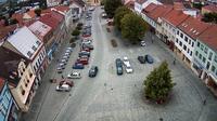 Boskovice: Masarykovo náměstí (Masaryk square) - Overdag
