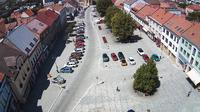 Boskovice: Masarykovo n�m?st� (Masaryk square) - Dagtid